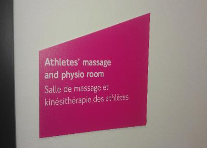 official sports massage practitioner at the London 2012 Olympic and Paralympic games.